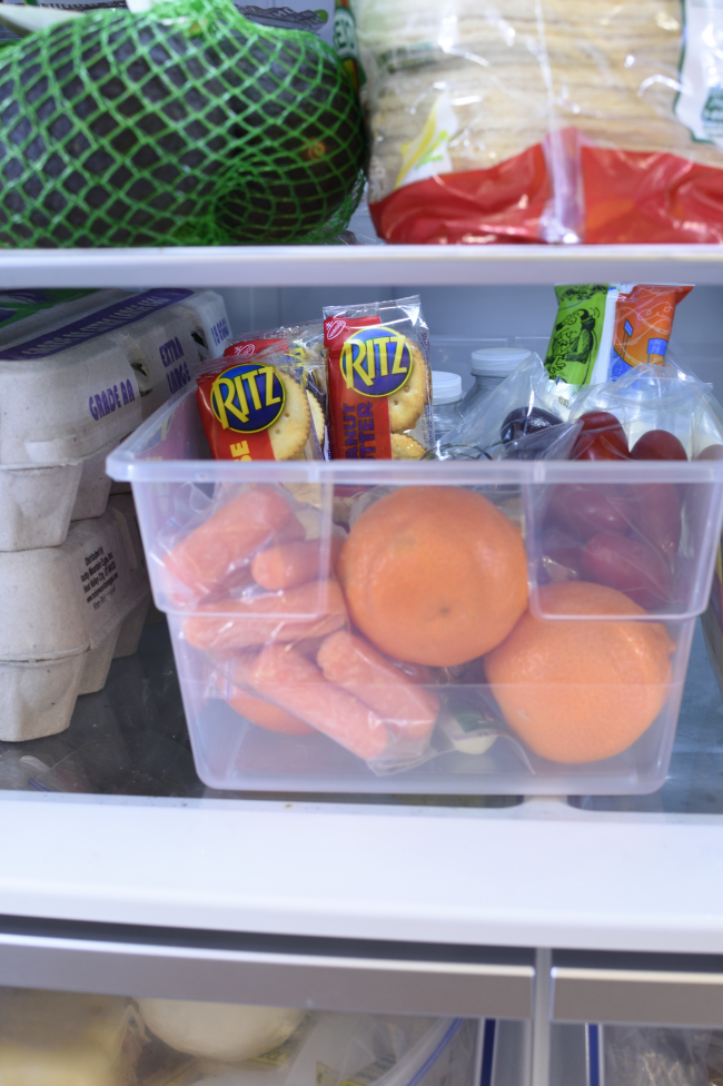 Easy Back To School Snack Hack - easy for the kids