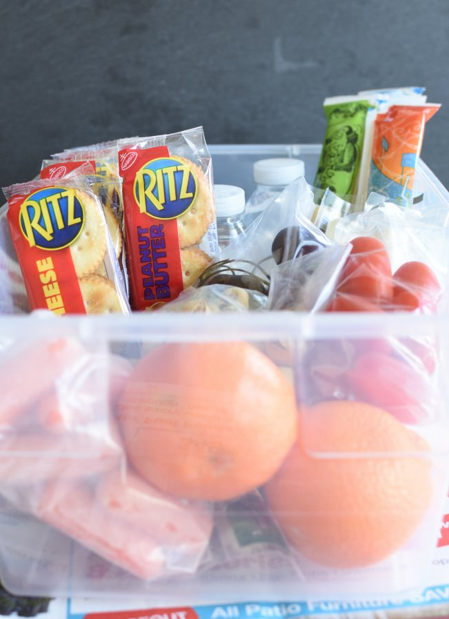 Easy Back To School Snack Hack - prep once for the whole week