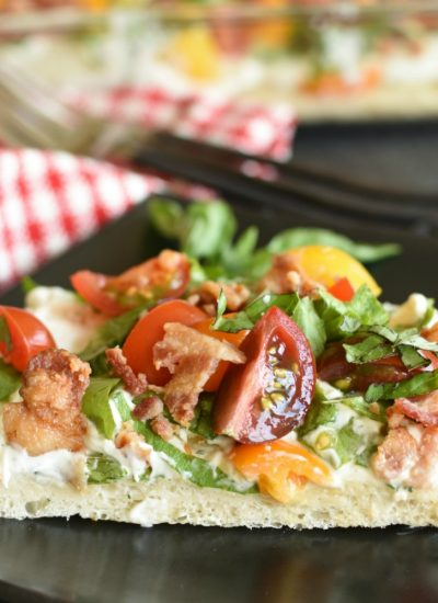 BLT Pizza - featured image