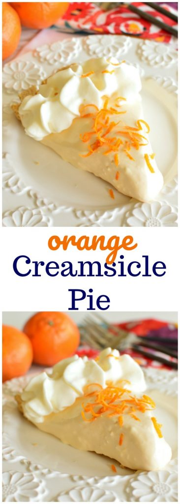 Orange Creamsicle | No Bake | 4 Ingredients | Quick and Easy Summer Dessert