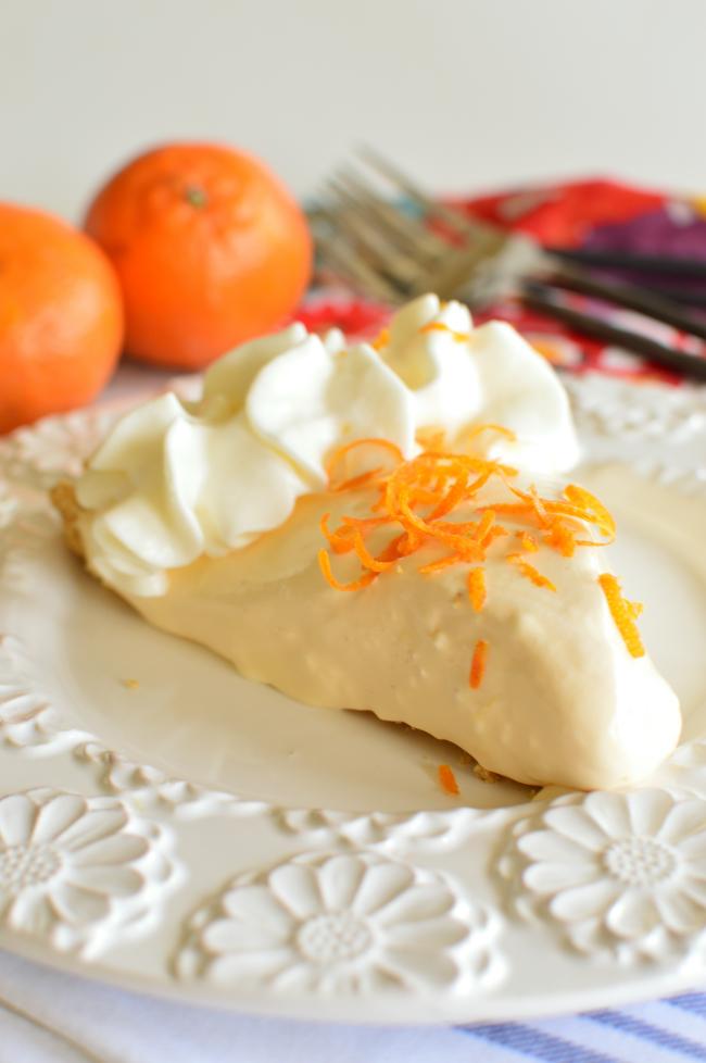 Orange Creamsicle- easy no bake dessert