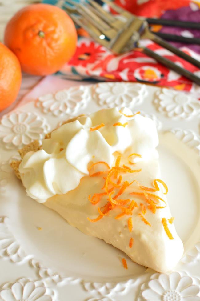 Orange Creamsicle - Summer Dessert