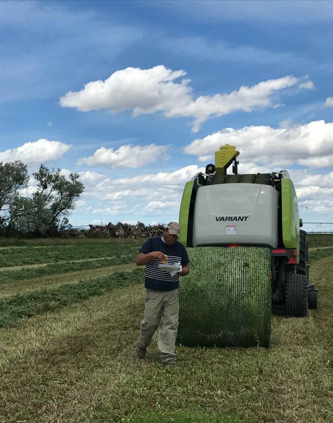 Proud of My Town - farmer who volunteers