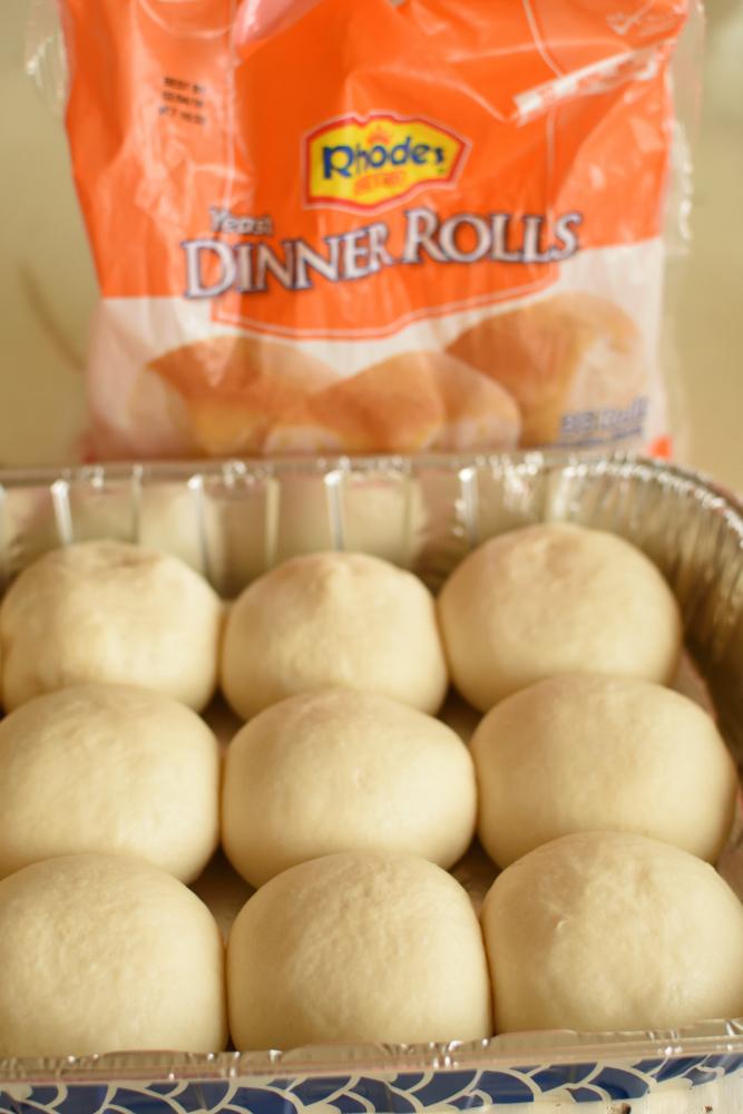 Caramel Apple Cheesecake Sliders - Rhodes Rolls