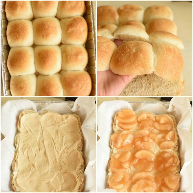 Caramel Apple Cheesecake Sliders - Step by Step