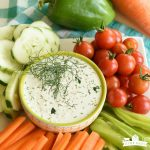 Dilly Dip {and Salad Dressing}