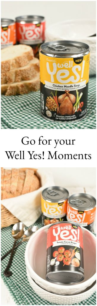 Learn about how to say yes to yourself and not feel guitly about it! #ad #WellYesMoment
