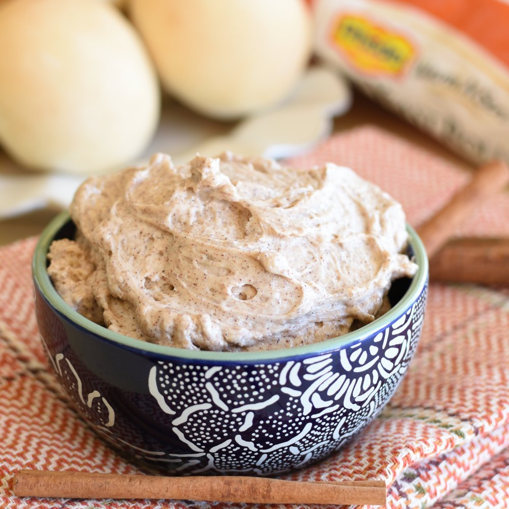 Whipped Cinnamon Butter- Use it on rolls, bread, sandwiches, etc.