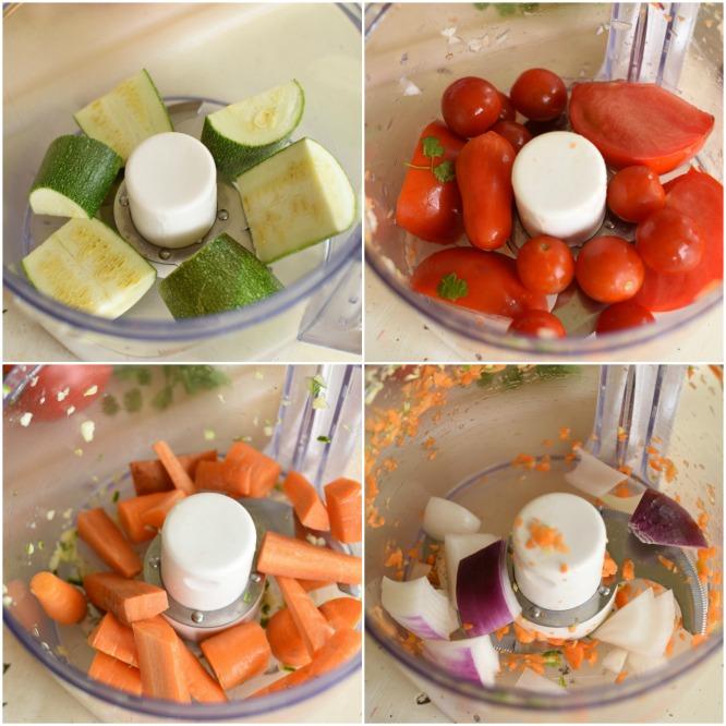 Fresh Garden Salsa - food processor