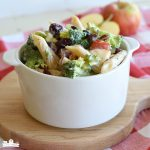Broccoli Pasta Salad {Lightened Up}