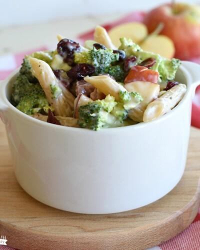 Broccoli Pasta Salad - Featured Image