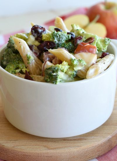 Broccoli Pasta Salad - Featured Image