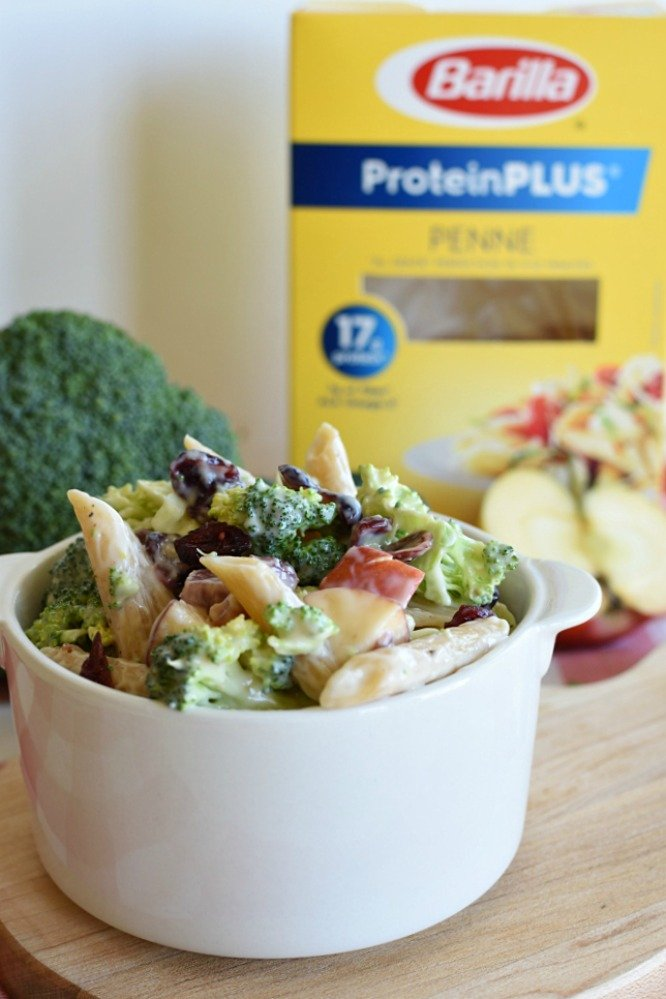 Broccoli Pasta Salad - With Barilla ProteinPLUS pasta