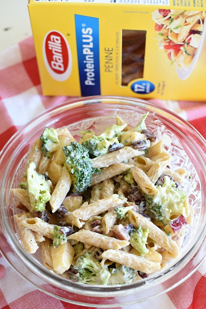 Broccoli Pasta Salad - Yummy fall salad