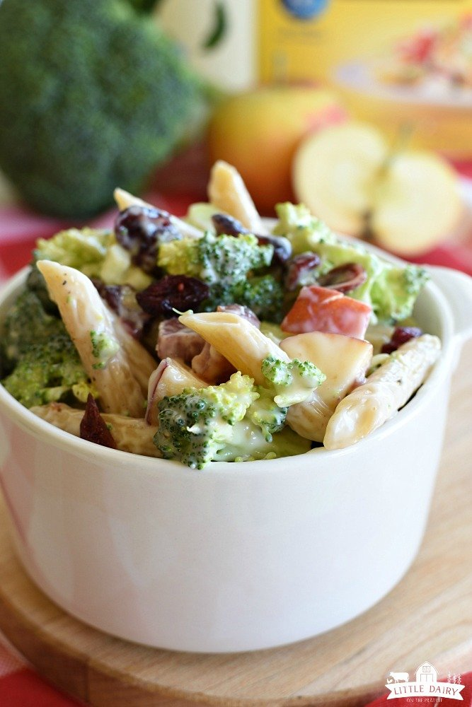 Broccoli Pasta Salad - a fantastic fall salad