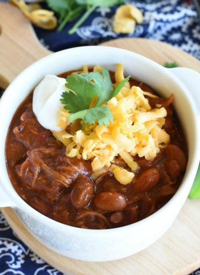 Cowboy Pulled Pork Chili - featured image