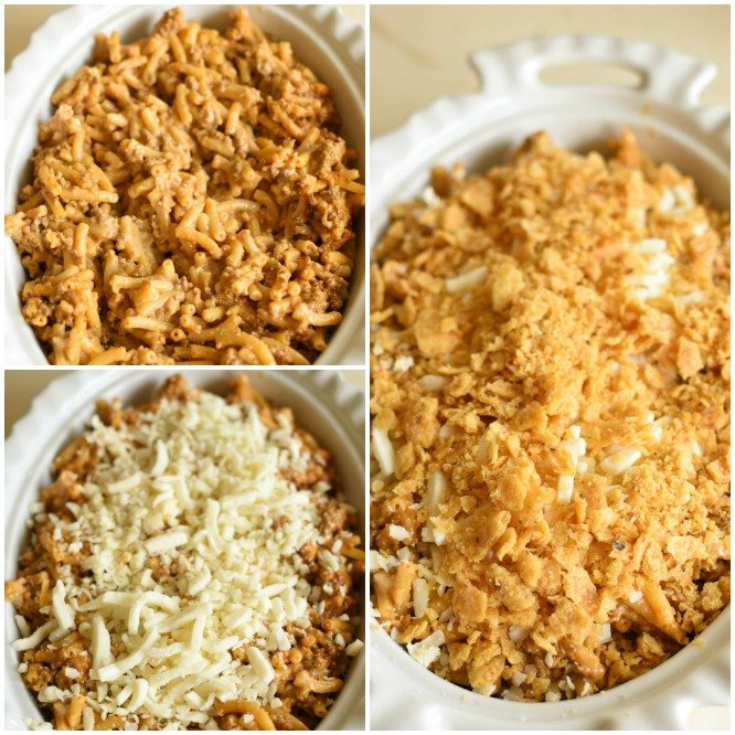 Mexican Mac and Cheese - ready to broil