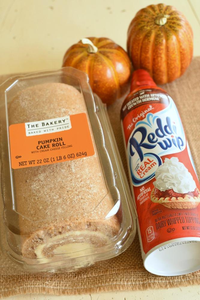 Pumpkin Roll Cheesecake Trifle - Use market street pumpkin roll