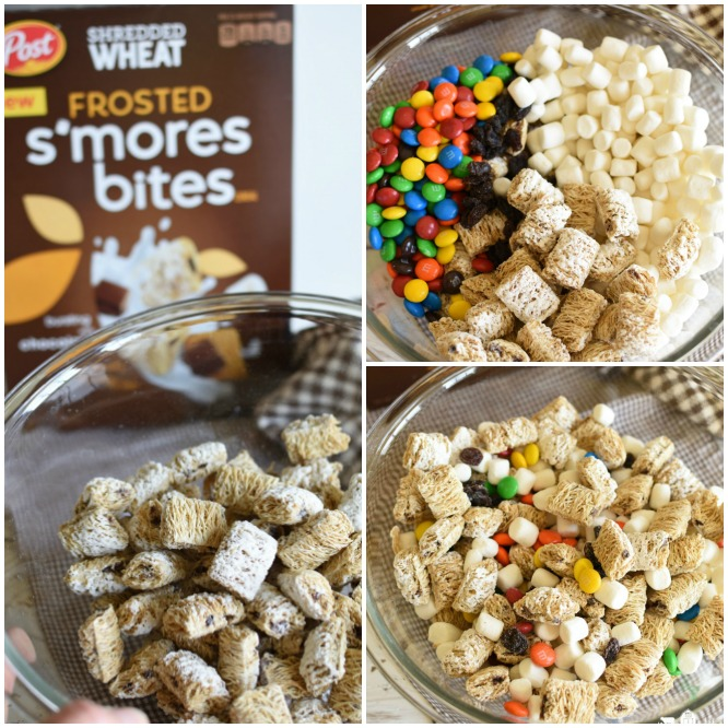 S'mores Trail Mix - Collage
