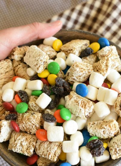 S'mores Trail Mix {Plus Farm Story}
