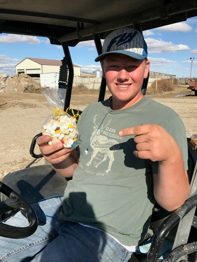 S'mores Trail Mix- how we stay fueled
