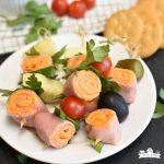 Easy Ham and Cheese Roll-Ups