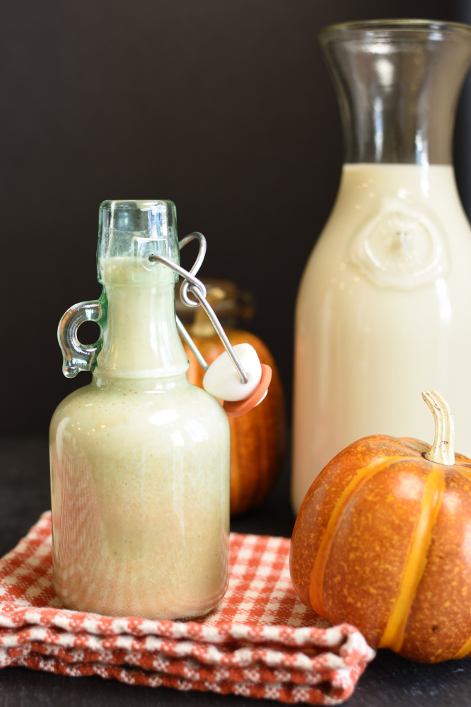 Flavored Milk - pumpkin spice milk