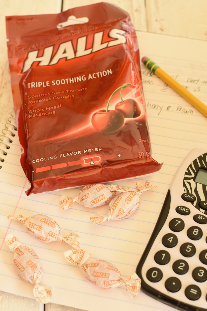 Germ Season Prep Hacks- Halls Cough Drops