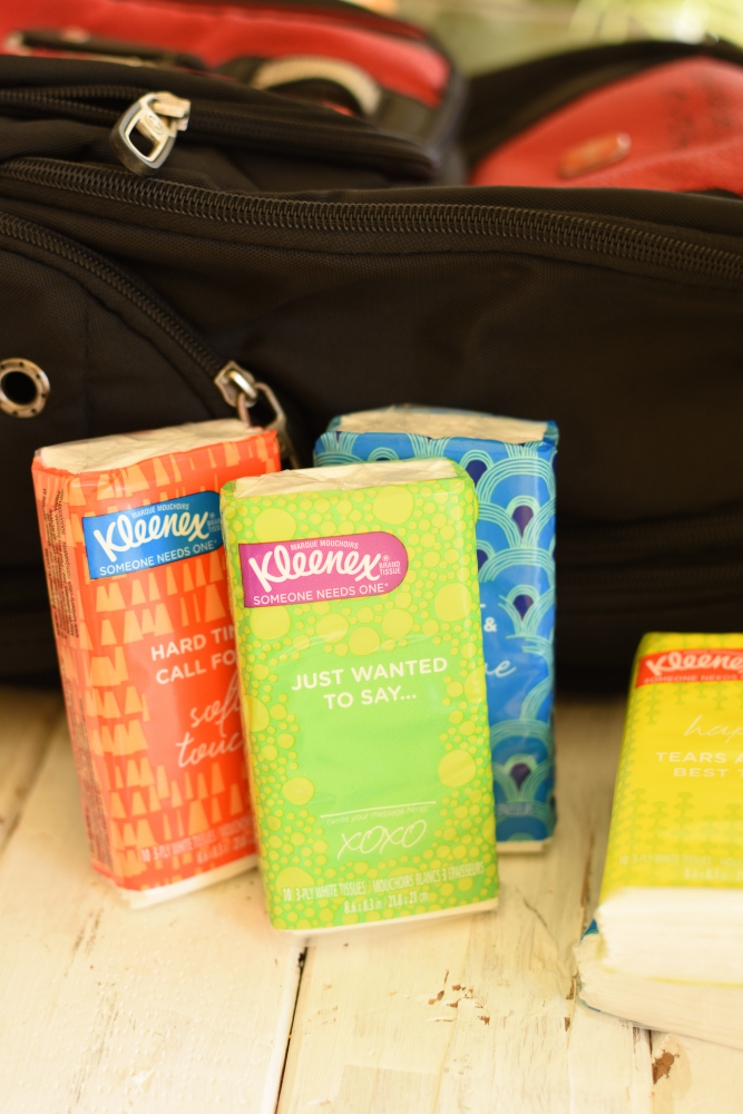 Germ Season Prep Hacks- Kleenex Pocket Packs