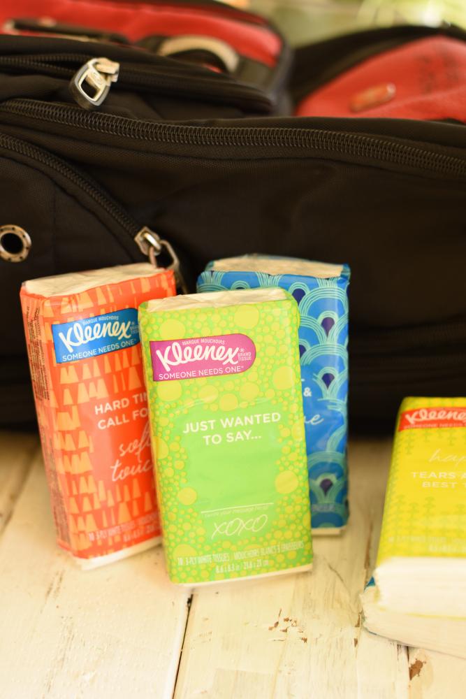 Germ Season Prep Hacks- Kleenex Pocket Packs