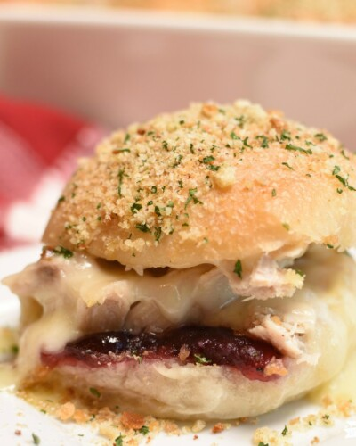 Turkey Cranberry Sliders - featured image