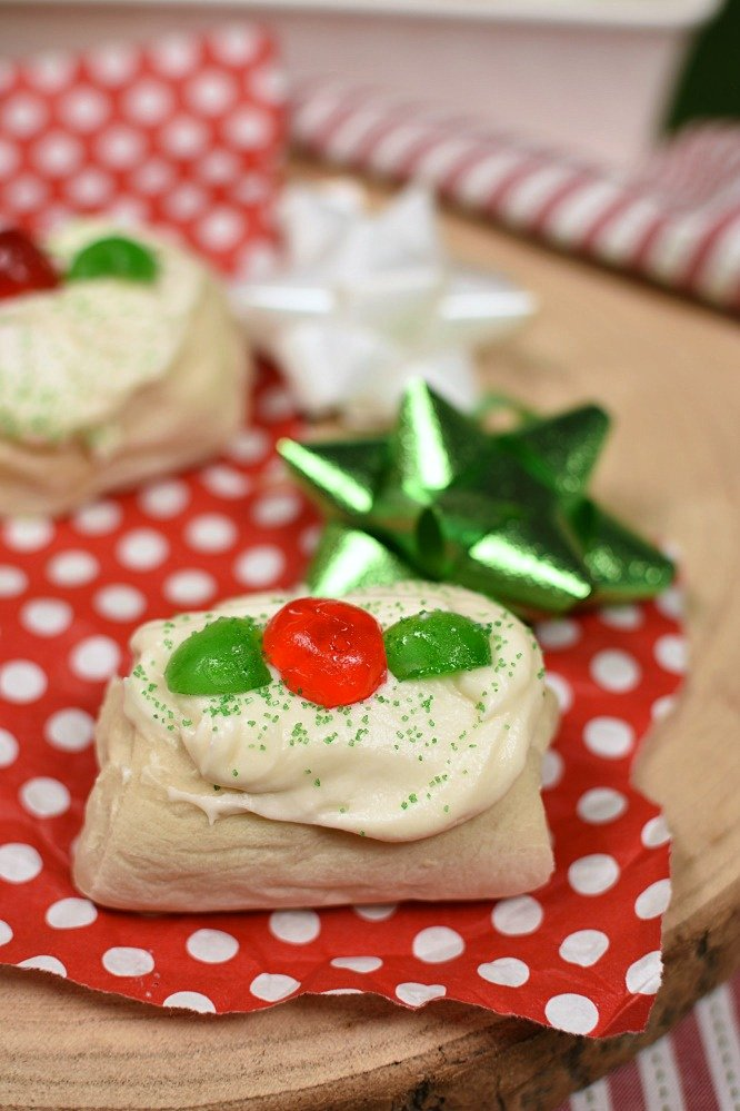Christmas Pastries - a surprise inside