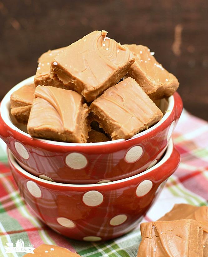 3 ingredient microwave caramels - 3 ingredients