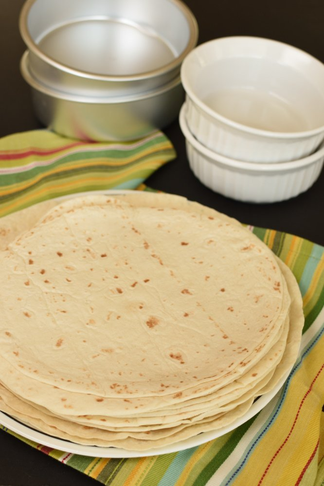 Homemade Tortilla Bows - easier than you think