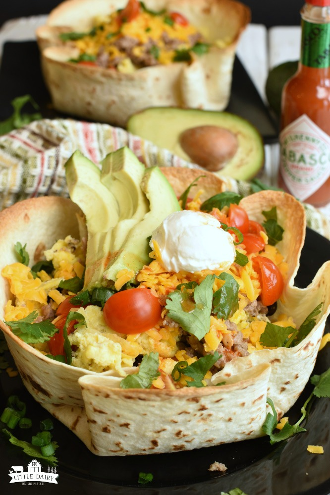 Breakfast Burrito Bowls- Scrumptious Breakfast