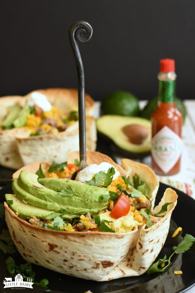 Breakfast Burrito Bowls- Weekend Breakfast