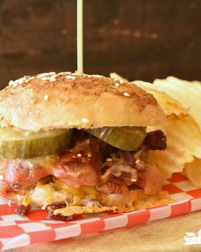 Hotdog Sliders - featured image