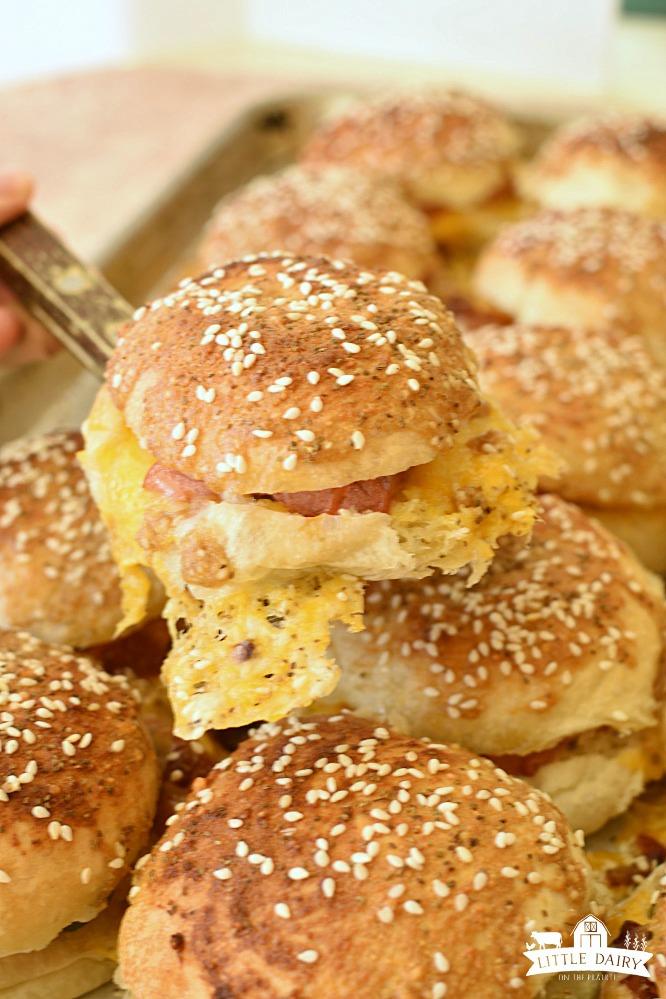 Hotdog Sliders - perfect party food