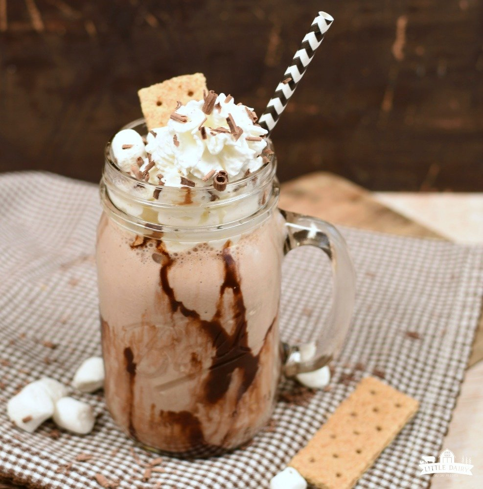S'mores Smoothie- featured image