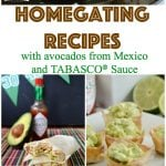 Start game day in a yummy way with this collection of game day recipes! #AD #GuacWorld #FlavorYourWorld @AvosFromMexico @Tabasco httpbit.ly2p8H3ky
