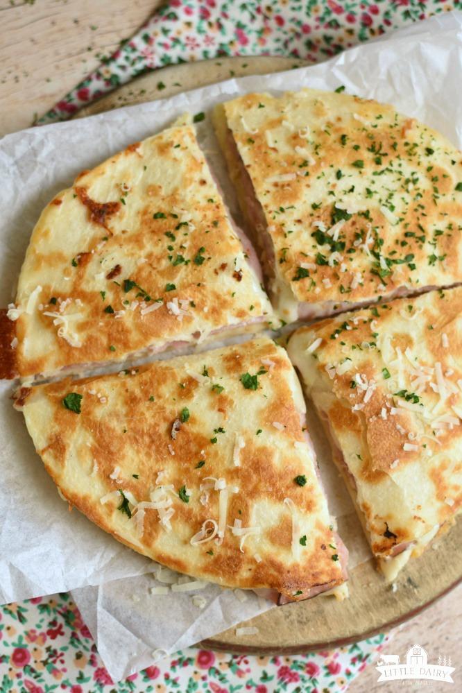 Chicken Cordon Bleu Quesadillas - a favorite quick meal