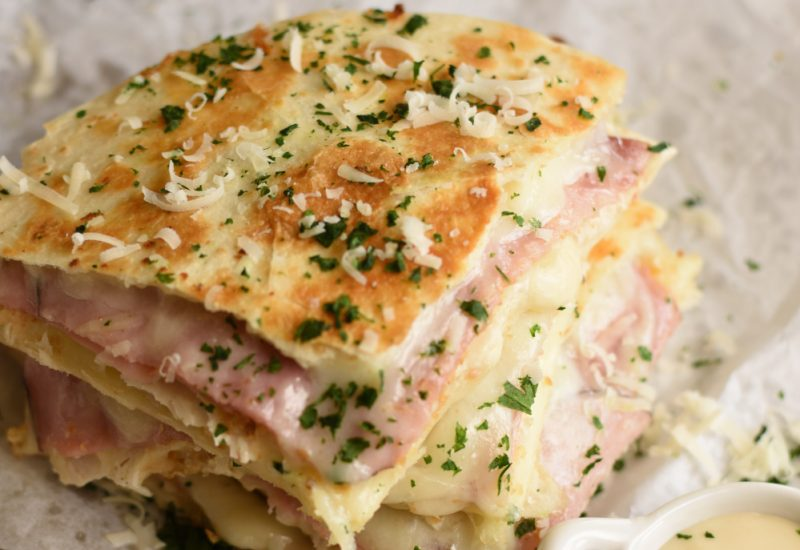 Chicken Cordon Bleu Quesadillas - featured image