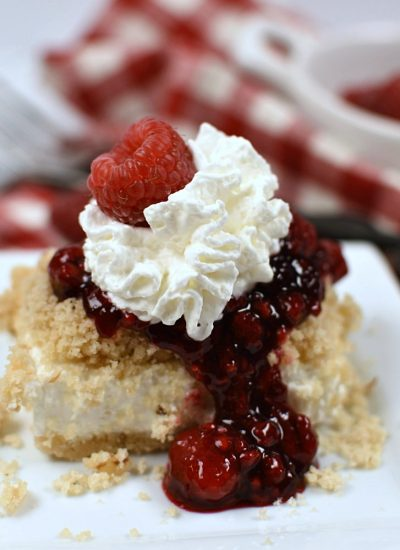 Raspberry Cheesecake Dessert