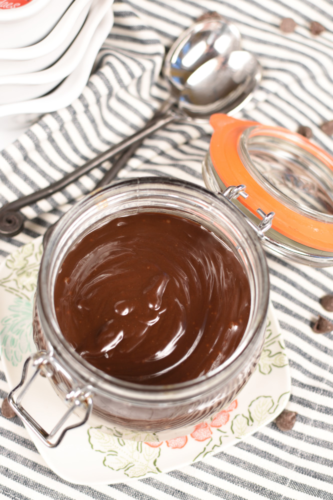 Homemade Hot Fudge Sauce - So decadent