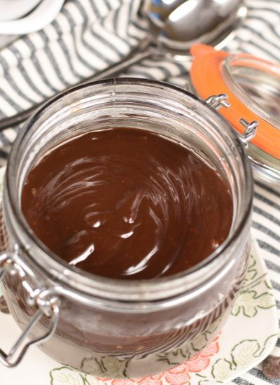 Homemade Hot Fudge Sauce - featured image