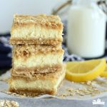 Lemon Cheesecake Crumb Bars