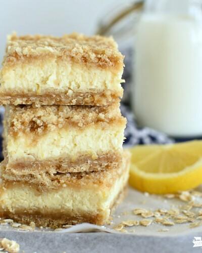 Lemon Cheesecake Crumb Bars- featured image