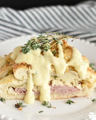 Chicken Cordon Bleu Braid - featured image