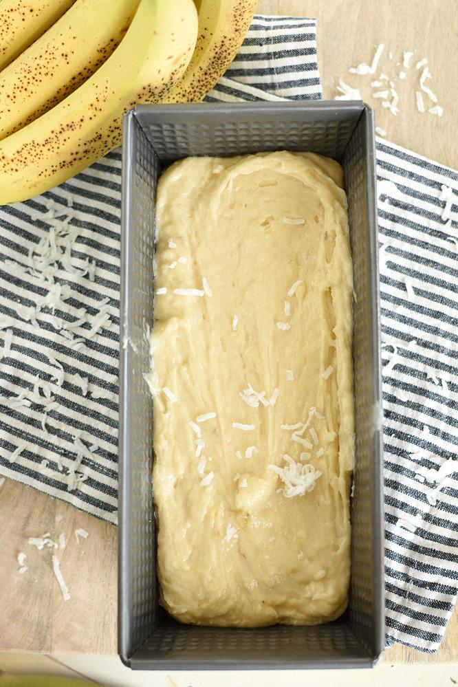 Coconut Banana Bread - The best banana bread