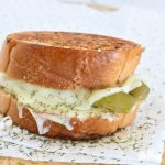 Dill Pickle Grilled Cheese Sandwich - featured image